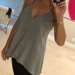Milly V-Neck Fly Away Cami - size small